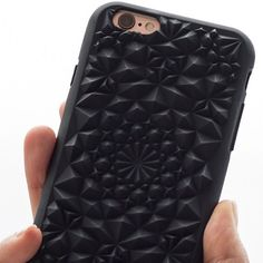 It's all in the details // Matte Black Kaleidoscope Case // Available for iPhone 6/6+/7/7+ at felonycase.com