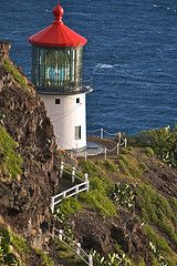 Makapu'u Lighthouse Hawaii  I'VE BEEN HERE! FIRST LIGHTHOUSE I'D EVER SEEN IN REAL LIFE! :)