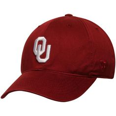 official photos f660a 6b7c6 Men s Top of the World Crimson Oklahoma Sooners Relaxer 1Fit Flex Hat