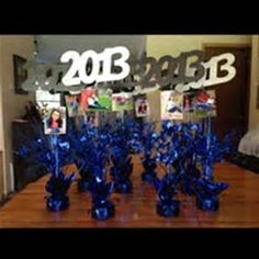 Graduation centerpieces but in red, white and black Graduation Party Centerpieces, Graduation Party Planning, College Graduation Parties, Graduation Celebration, Graduation Decorations, Graduation Party Decor, Grad Parties, Graduation Gifts, Graduation Ideas