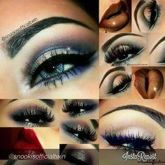 by #snookisofficialtwin  MY TOP fav makeup looks :) using #motivescosmetics