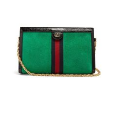 Gucci Ophidia suede shoulder bag (3,740 BAM) ❤ liked on Polyvore featuring bags, handbags, shoulder bags, green, shoulder handbags, gucci shoulder bag, shoulder bag purse, green suede handbag and green purses