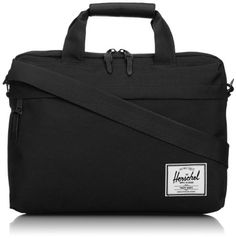 Herschel Supply Co. Clark Messenger Bag Designed to be the perfect carryall for work, travel and school, the Clark is a large volume messenger bag that features Herschel Supply Co, Work Travel, Travel Bags, Clarks, Briefcases, Striped Fabrics, Leather Handle, Laptop Sleeves, Messenger Bag