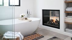 For a calming and elegant design, look to nature to help you create a spa-like room you can enjoy everyday.