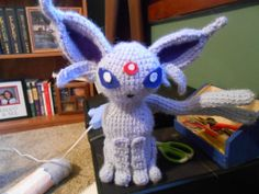Espion - Pokemon Character - Free Amigurumi Pattern step by step here: http://www.instructables.com/id/Crochet-Espion/?ALLSTEPS