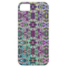 Abstract #Rainbow #Mandala #Fractal #iPhone 5 Case $44.95