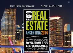 Expo Real Estate Argentina 2014.  Trascender Group Estrategia y Comunicación Relaciones Públicas - Capital Humano - Marketing Digital - Redes Sociales.
