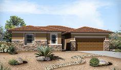 Denise-L23D-CrescendoAtCadence Elevation C | Denise floor plan | Richmond American Homes | ,  |