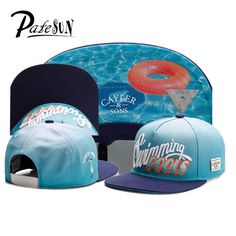 Swimming Pools Letters Embroidery Baseball Caps Cayler Sons Basketball Mens Hats gorras planas Snapback golf gorra plana