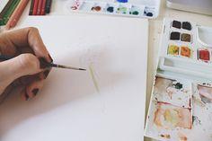 watercolor base