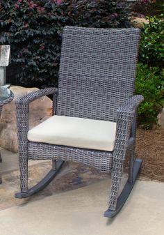 Piedmont Bayview Rocking Chair Driftwood - Piedmont Home Furnishings