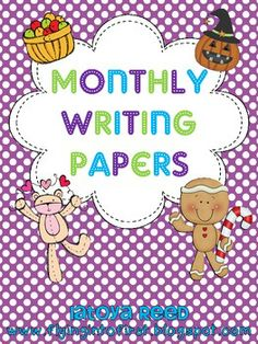Writing Papers for each Month