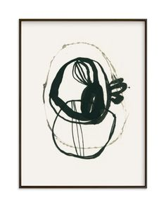 """Black 03"" - Art Print by Catilustre in beautiful frame options and a variety of sizes."