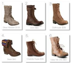 Combat Boots #fashion #style #trend