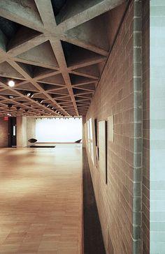 Yale University Art Gallery, New Haven  by Louis Kahn in 1951-53