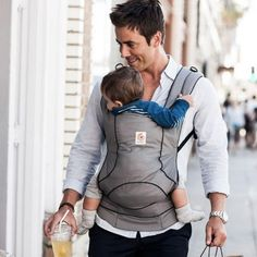 Sleek, modern, and lightweight, the Ergobaby Urban Chic Carrier is made to easily transition from day to night with a versatile style we love. And since it's compact and fully-adjustable, it's perfect for busy, on-the-go parents who want a carrier that will grow with their baby.  Color: Grey  Details:  Comfortable for parents: Smart design evenly distributes baby's weight between the parent's hips and shoulders.  Comfortable for babies: Ergonomically cradles baby in a natural sitting…