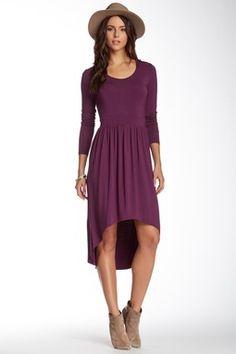 Louvain Hi-Lo Dress