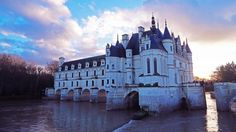 The Loire Valley is home to chateaux like the 16th-century Chenonceau, renovated by Catherine de Medici.