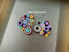 Bubblegum Troll Candy Crush Earrings