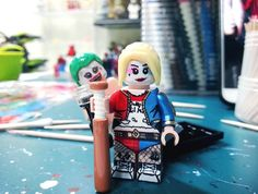 Suicide Squad's Harley Quinn & The Joker fan-made Lego