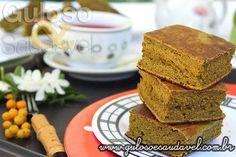 Perfeito para o #lanche, esta delicia de Bolo Detox na Frigideira, é fácil, leve e saudável. Vão amar!  #Receita aqui: http://www.gulosoesaudavel.com.br/2015/06/09/bolo-detox-frigideira/