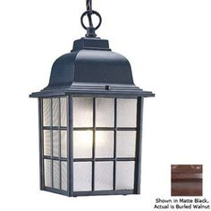 Acclaim Lighting Nautica 12-in H Outdoor Pendant Light