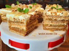 Krówka jabłkowa bez pieczenia #ciasto #jabłka #bezpieczenia - YouTube Cake Decorating Tutorials, No Bake Desserts, Dory, Tiramisu, Breakfast Recipes, Cheesecake, Baking, Ethnic Recipes, Sissi