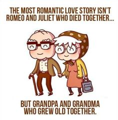 True. Stop romanticizing a couple that committed suicide and appreciate more the real story of those that hang on and don't choose death or divorce!