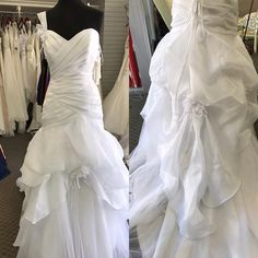 It's wedding season!! Come see our #instock inventory of #wedding gowns and #bridesmaid dresses!! #annagraceformals #annagracegirl #downtownrogers #bridal (at Anna Grace Formals)