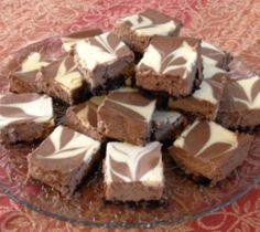 Yumm! Choco swirl cheesecakes