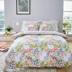 Stylish and contemporary duvet covers available from Dunelm. Our bed linen range includes a variety of colours and patterns, all made with high quality material and in every size, from single to king size duvet covers. 100 Cotton Duvet Covers, Double Duvet Covers, Super King Duvet Covers, King Duvet Cover Sets, Duvet Sets, Velvet Duvet, Hazelwood Home, Bedding Collections, Bedding