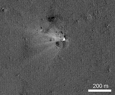NASA's LRO Spacecraft Captures Images of LADEE's Impact Crater
