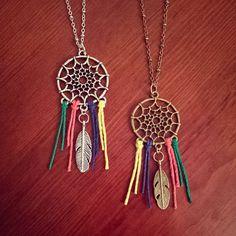 El soñador / / collar de atrapasueños / / collar de por BohoTribeCo