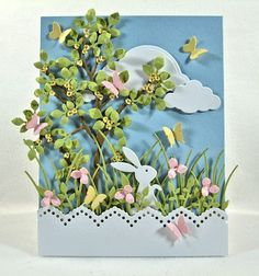 Check out the deal on Bunny Set at Impression Obsession Rubber Stamps Impression Obsession Cards, Memory Box Cards, Diy Ostern, Cricut Cards, Card Making Inspiration, Easter Crafts, Easter Decor, Cute Crafts, Card Tags
