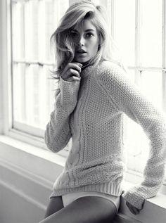{fashion inspiration | editorial : doutzen kroes for telegraph fashion} - {this is glamorous}