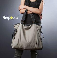 Sale-Ready To Ship-Ringopie Everyday Canvas Tote Bag(light gray)/diaper bag/school bag/handbag/purse/laptop bag/women/For Her-050 by ringopie on Etsy https://www.etsy.com/listing/74632223/sale-ready-to-ship-ringopie-everyday
