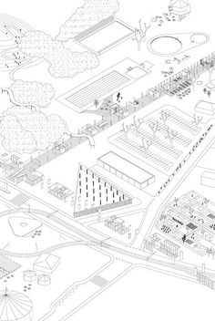 Centralité Périphérique. New centralities at the periphery  Bordeaux - France. 2009-2010  Architect: Raumberau    ...
