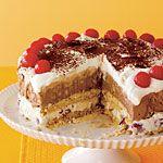 Ice Cream Meringue Torte Recipe | MyRecipes.com