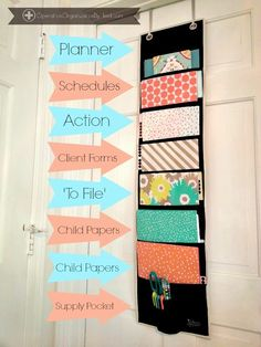 Operation Organization: Professional Organizer Peachtree City, Newnan, Fayetteville, Senoia,Georgia: Keep Paper Organized with 'The Project Board' by Clever Container