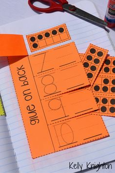 Kindergarten Math interactive Journals- August/September Back to school! Help your students develop a strong number sense for numbers 1-10 with these interactive journals!