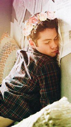 Hasta dormido es hermoso