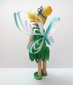 3D Quilling: Tinkerbell Fairy  Kurlikins