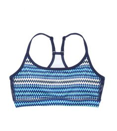 We love pairing bright tanks with printed sports bras!