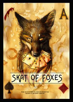Skat of Foxes Card game by Culpeo-Fox on deviantART