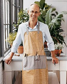 Gardener's Apron | Step-by-Step | DIY Craft How To's and Instructions| Martha Stewart