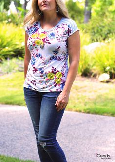 free pattern size M - Fun Summer Tee4