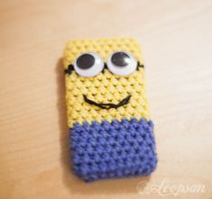 Minion-Inspired Phone Case ~ Free Crochet Pattern