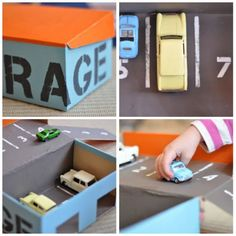 Manualidades con caja de zapatos Ideas Para, Kids, Crafts, Scrapbooking, Shoe Box, Shoes For Girls, Infant Crafts, Car Garage, Cardboard Toys
