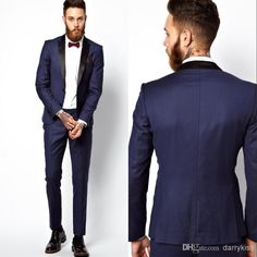 2014 New Custom Made Groom Tuxedos Business Suits Classic Natch