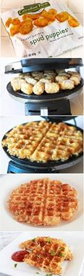 I must try this. It makes hash browns look so crispy and easy.